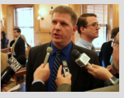 Photo by Stephen Koranda/KPR Budget Director Shawn Sullivan says other budget changes will have to be made down the line to find funds to repay a delayed obligation to KPERS.