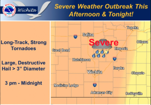 Chance for afternoon, evening thunderstorms