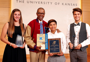 Kansas Comet, Seniors Honored During Jayhawk Senior Celebration