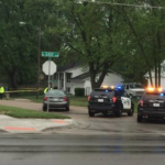 1 hospitalized after shooting near Kansas child-care center