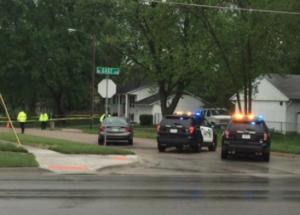 1 hospitalized after shooting near Kansas child-care center