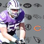 KSU's Whitehair Selected by Bears in NFL Draft