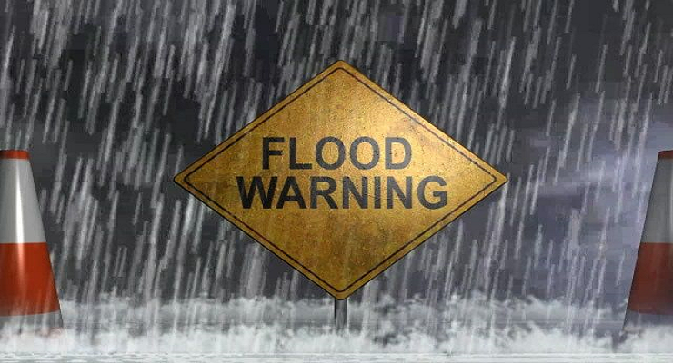 Flood WARNING Issued for Saline & McPherson Counties