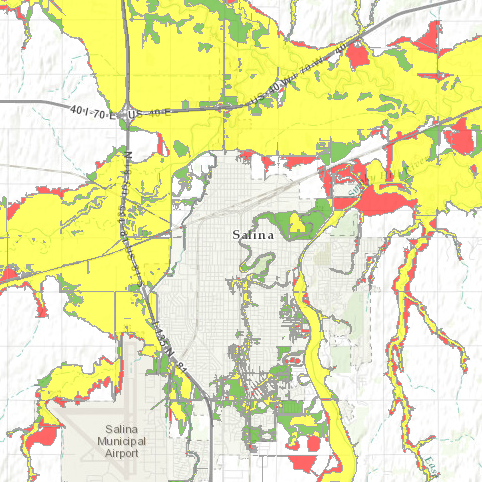 Floodplain Remapping Open House Set For May Th The Salina Post - National flood insurance maps