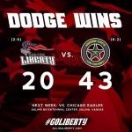 Dodge City Downs Liberty in 2nd Round of Tumbleweed Throwdown