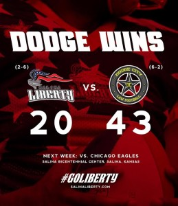 Dodge City Downs Liberty in 2nd Round of Tumbleweed Throwdown