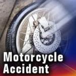 Kansas man flown to hospital after Harley hits rock bluff