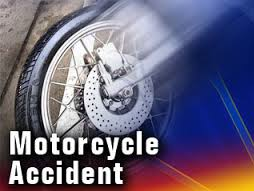 2 hospitalized after car hits motorcycle