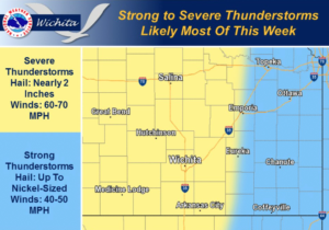 Warm, Windy With More Thunderstorms