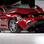 Muscle cars look cool but aren't so strong in crash tests