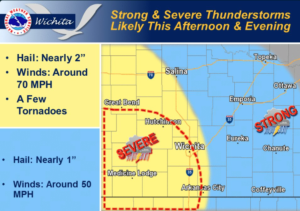 Chance for Tuesday Storms