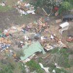 "After Wednesday tornado, residents ""lucky to be alive."""