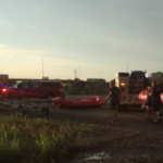 The Latest: 11-year-old swept away in Kansas creek UPDATE