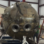 Salina man rebuilding deep-diving submarine in garage
