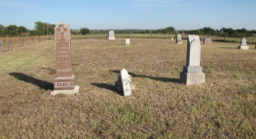 Private Kansas cemetery vandalized during the weekend