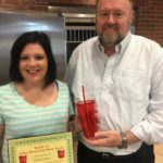 Kindel Culver is Presented With Her BANK VI Hero of the Week Award