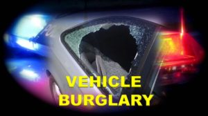 More Than $2,800 Worth of Items Taken in Vehicle Burglary