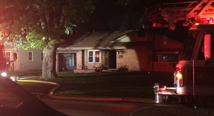DEVELOPING: Fire at Central Salina Home