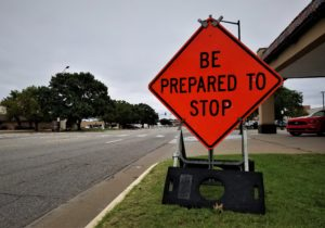 Stop signs to be used at Ohio and Albert