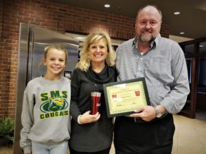 Megan Baird, BANK VI Hero of the Week