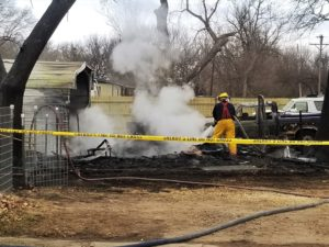 UPDATE: Heat lamp blamed for Gypsum fire
