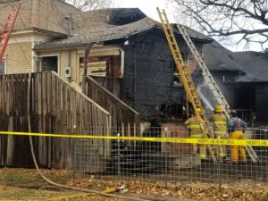 Fire damages Gypsum homes