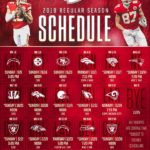 2018 Regular Season Schedule Finalized; Chiefs Slated for Five Primetime Contests