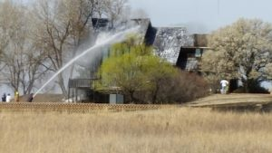 Fires keep firefighters busy Saturday