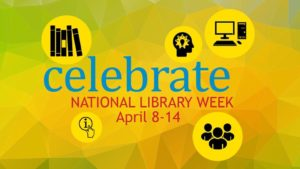 Join Salina Public Library to Celebrate National Library Week April 11