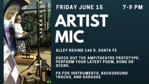 Artist Mic June 15