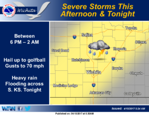 Stormy Saturday possible
