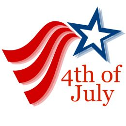 City Schedule for July 4th Holiday