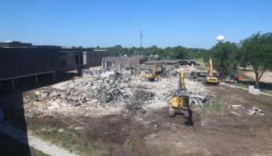 Video: South High Pod Demolition