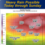 Flooding Rains Possible Over Holiday Weekend