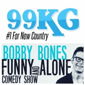 Presale for 99KG's Bobby Bones TODAY!