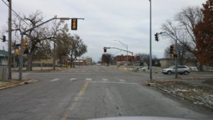 City to begin replacing signal light poles at 9th and Elm Monday