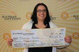 Solomon Resident Claims Second Kansas Lottery $20,000 Prize