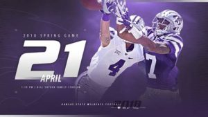 K-State's Annual Purple/White Spring Game Set for April 21