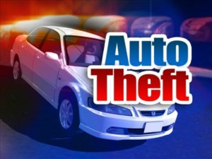 Vehicle Stolen from South Salina Home