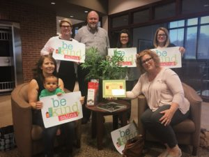 BeKind Salina receives the BANK VI Hero of the Week Award