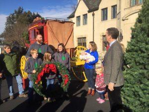 Salina tree farm delivers Christmas tree to Governor's Mansion