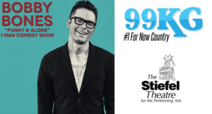 99KG's Bobby Bones Returns To a Sold Out Show Tonight!