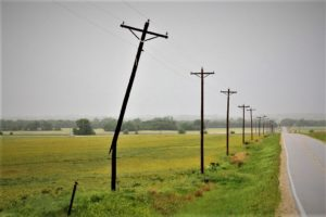 Saline County Sheriff's Office storm damage report