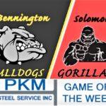 PKM Steel Service Game of the Week- Solomon at Bennington
