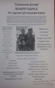 Benefit raffle to help Lindsborg family involved in accident