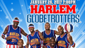 Harlem Globetrotters Coming to Salina THIS THURSDAY!