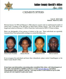 Crimestoppers March 16