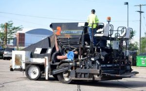 Apac-Kansas, Inc. Donates Asphalt Paver to Diesel Tech Program