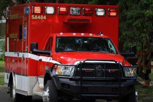 Unconscious man found burned near grass fire
