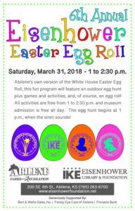 Easter Egg Roll March 31
